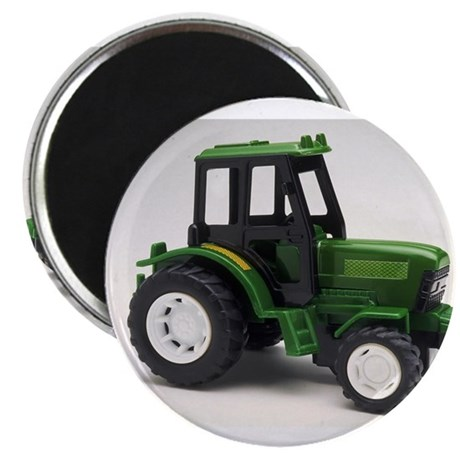 """Green Toy Tractor 2.25"""" Magnet (100 pack)"""