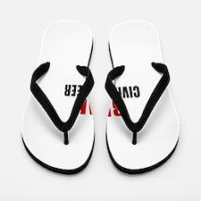 Real Civil engineer Flip Flops