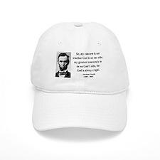 Abraham Lincoln 3 Baseball Cap