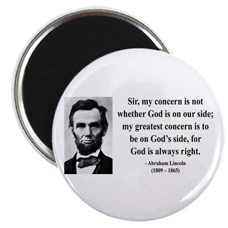"Abraham Lincoln 3 2.25"" Magnet (10 pack)"