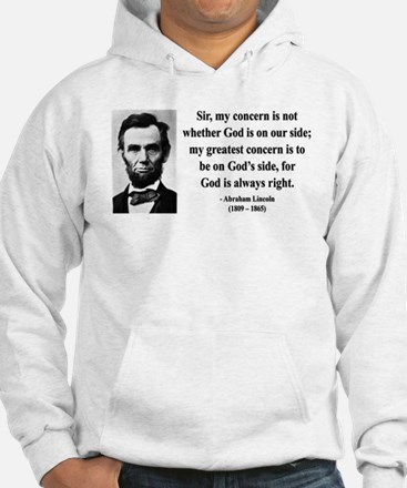 Abraham Lincoln 3 Jumper Hoody