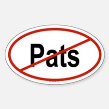 PATS Oval Decal