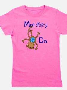 Monkey Do blue T-Shirt