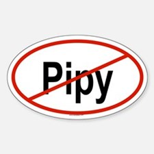 PIPY Oval Decal