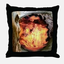 Nebuchadnezzar And The Fiery Furnace Throw Pillow