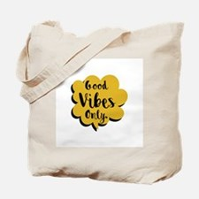 Good Vibes Only Speech Bubble Tote Bag