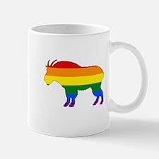 Rainbow Mountain Goat Mugs