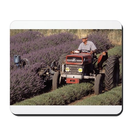 Farmer on the Tractor Mousepad