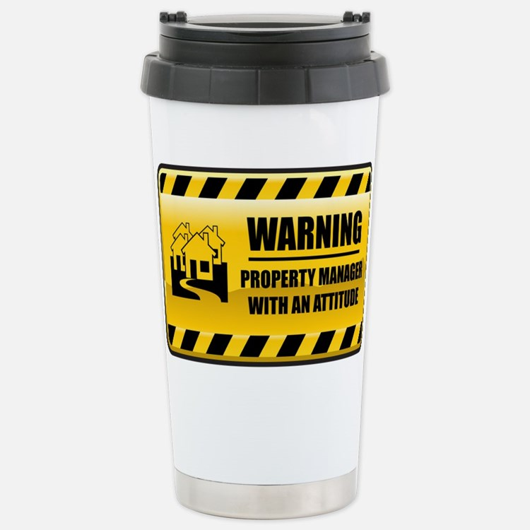 Cute Property management Travel Mug