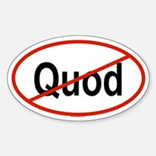 QUOD Oval Decal