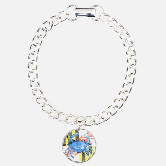 Cute Maryland flag Bracelet