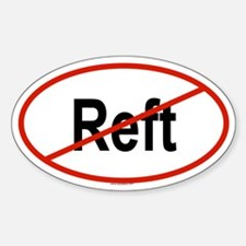 REFT Oval Decal