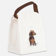 doxie 1 Canvas Lunch Bag