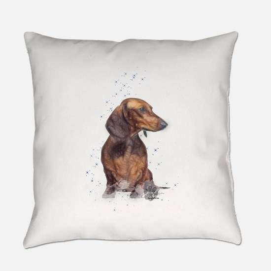 doxie 1 Everyday Pillow