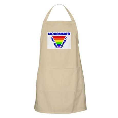 Mohammad Gay Pride (#005) BBQ Apron