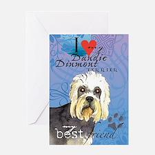 Dandie Dinmont Greeting Card