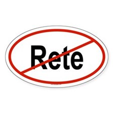 RETE Oval Decal