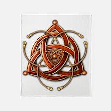 Cute Trinity knot Throw Blanket