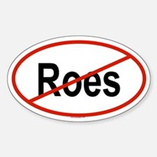 ROES Oval Decal