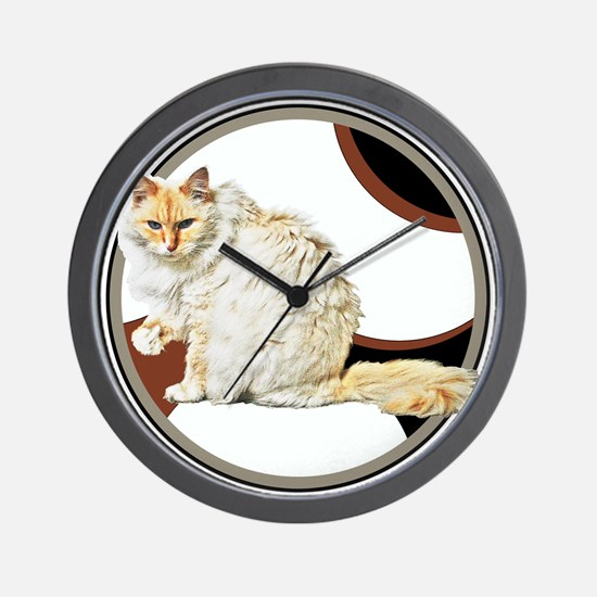 Bad kitty Wall Clock