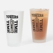 Unique Two towers Drinking Glass