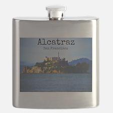 Alcatraz Island San Francisco Flask