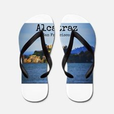 Alcatraz Island San Francisco Flip Flops