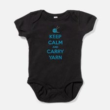 Keep Calm and Carry Yarn Body Suit