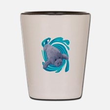 MANATEE Shot Glass
