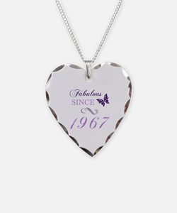 Cool 50th birthday Necklace Heart Charm