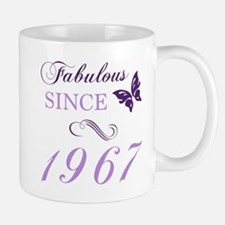 Fabulous Since 1967 Mugs