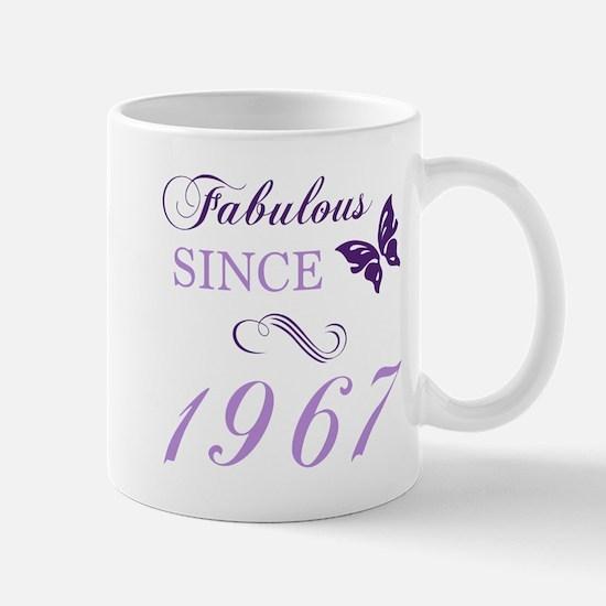 Fabulous Since 1967 Mugs