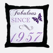 Cute 60th birthday Throw Pillow