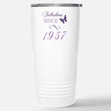 Fabulous Since 1957 Stainless Steel Travel Mug