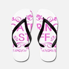 Catering: Catering Staff (Pink) Flip Flops