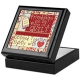 Quilters Keepsake Boxes