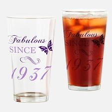 Unique Birthday 80 Drinking Glass