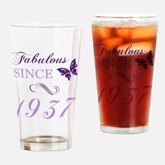 Unique 80 Drinking Glass