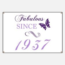 Fabulous Since 1937 Banner