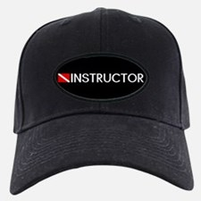 Diving: Instructor & Diving Flag Baseball Hat