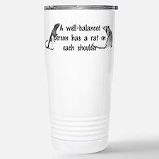 Unique Rat Travel Mug
