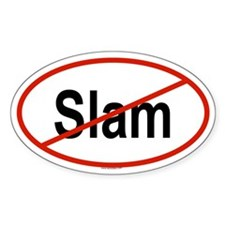 SLAM Oval Decal
