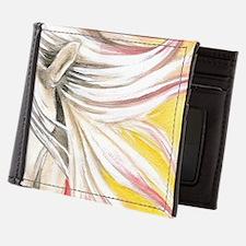Unique Spanish mustang Mens Wallet