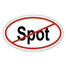 SPOT Oval Decal