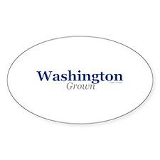 Washington Grown Oval Decal