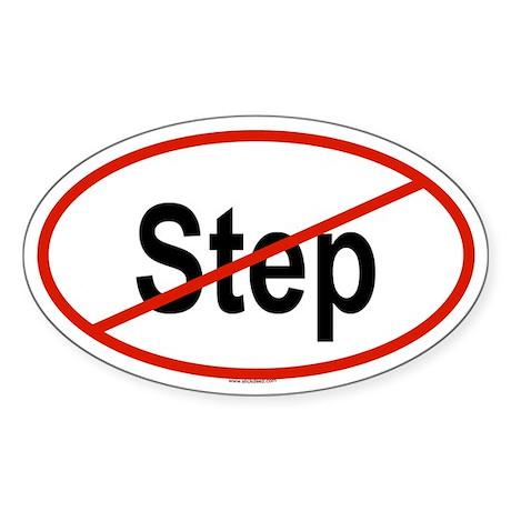 STEP Oval Sticker