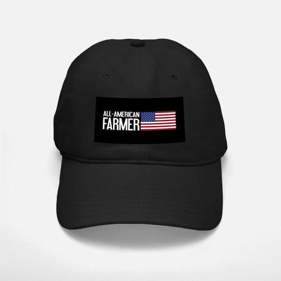 Farmer: All-American (Black) Baseball Hat