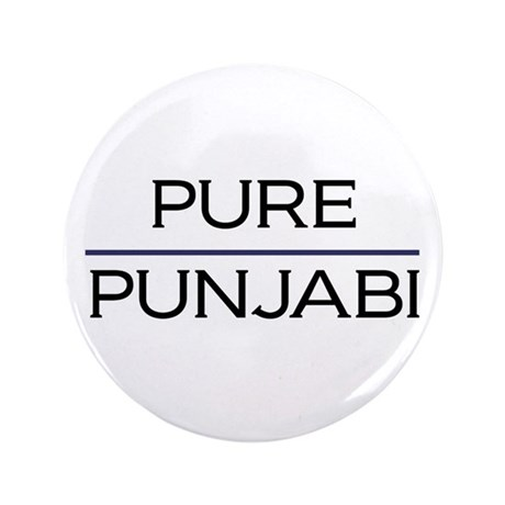 "Pure Punjabi 3.5"" Button"