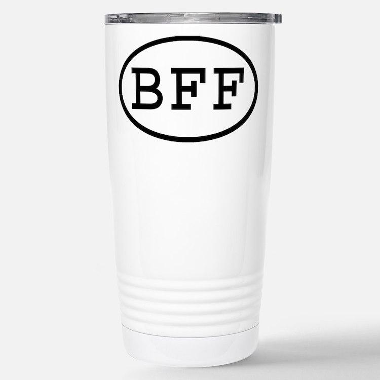 Cute Bff Travel Mug