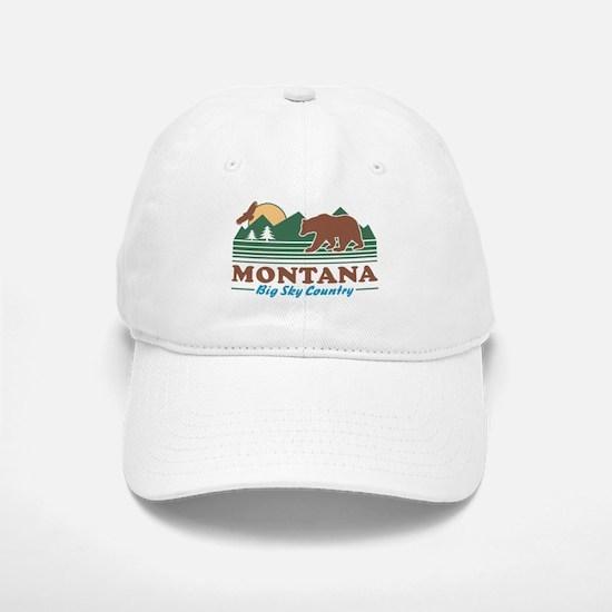 Montana Big Sky Country Baseball Baseball Cap